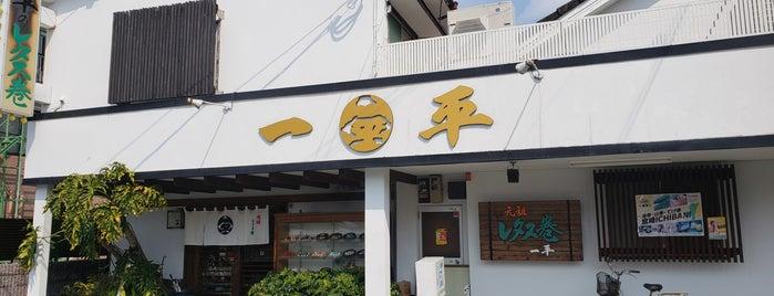 一平寿し is one of Miyazaki.