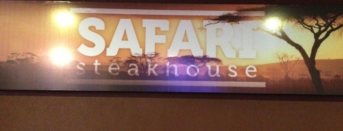 Safari Steakhouse is one of Viajando.