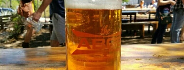 The ABGB is one of America's Best Beer Gardens.
