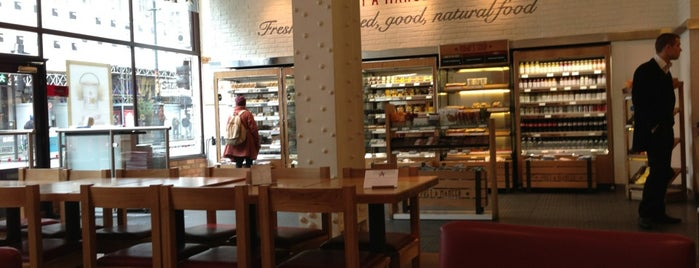 Pret A Manger is one of Lugares favoritos de Kevin.