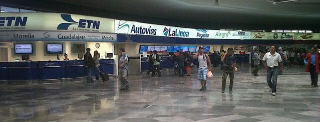 Terminal Central de Autobuses del Poniente is one of Ciudad de México :: Vías de Comunicación.