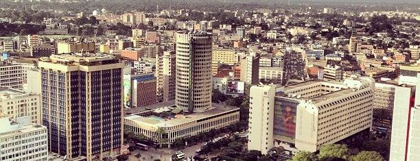 Nairobi is one of Tempat yang Disukai Millicent.