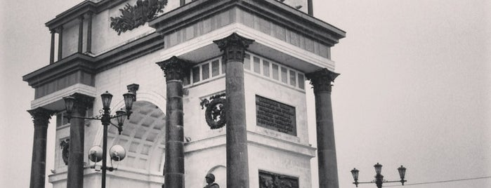 Триумфальная арка is one of Russia10.