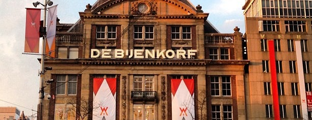 De Bijenkorf is one of AMSTERDAM.