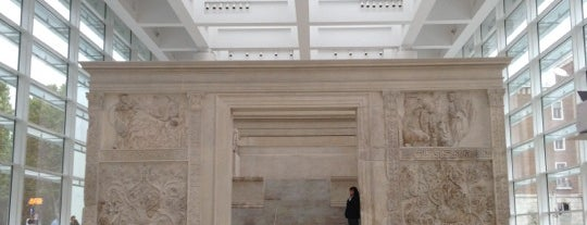 Museo dell'Ara Pacis is one of Stevenson's Favorite Art Museums.