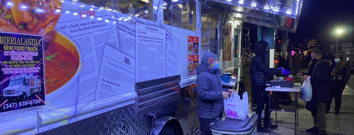 Birria-Landia Taco Truck is one of NY Food Files III.