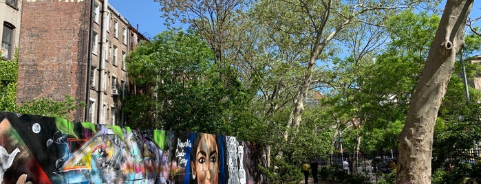 First Street Green Art Park is one of East Village.