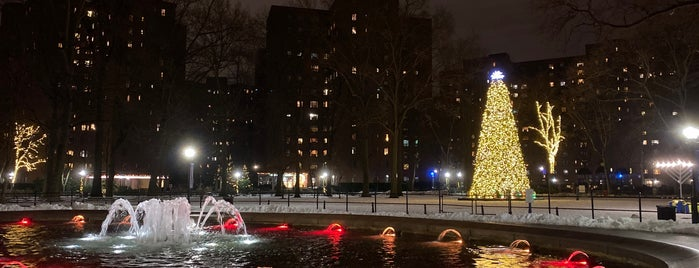 Stuyvesant Oval Fountain is one of Do in NY.