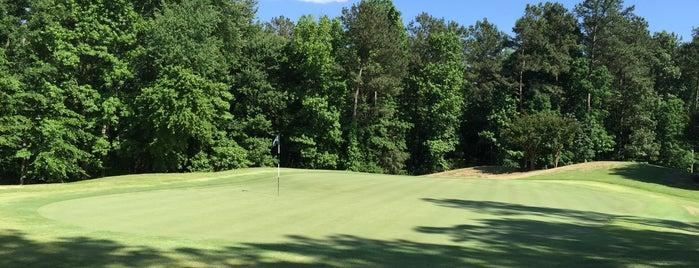 Brier Creek Country Club Golf Course is one of สถานที่ที่บันทึกไว้ของ Johnnie.