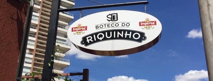 Boteco do Riquinho is one of Happy Hour.