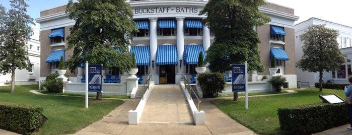 Buckstaff Bathhouse is one of CBS Sunday Morning 2.