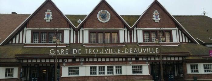 Gare SNCF de Trouville-Deauville is one of David 님이 좋아한 장소.
