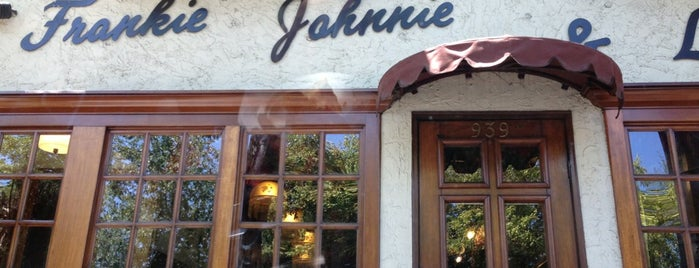 Frankie, Johnnie & Luigi Too! is one of Best South Bay Restaurants.