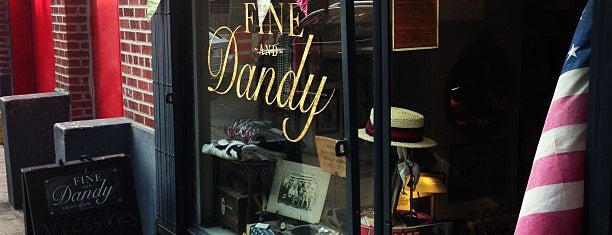 Fine And Dandy is one of New York.