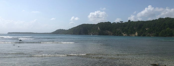 Plage de Petit-Havre is one of Martinique & Guadeloupe.