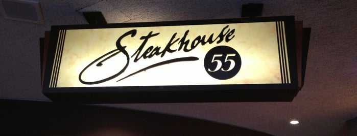 Steakhouse 55 is one of Fabiana 님이 좋아한 장소.