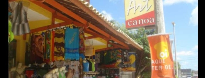 Loja Art Canoa is one of Mayor list.