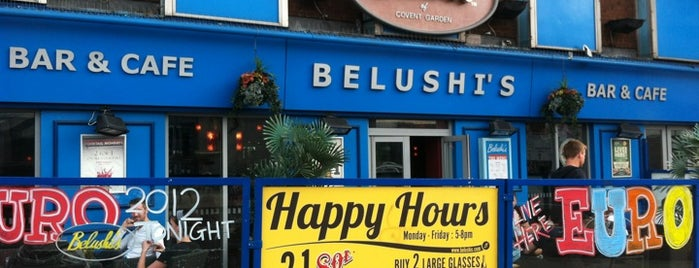 Belushi's is one of Bars.