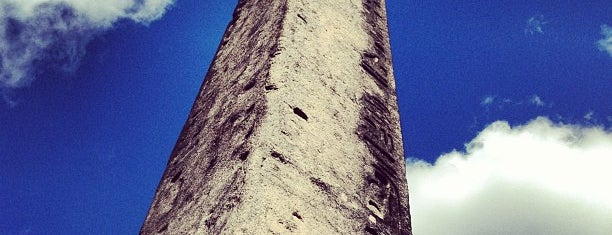 The Obelisk (Cleopatra's Needle) is one of Historic NYC Landmarks.