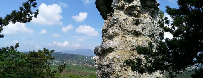 Ördög-szikla is one of Budai hegység/Pilis.