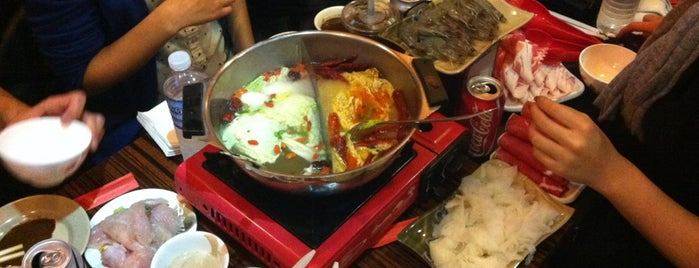 Hou Yi Hot Pot is one of NYC eats.