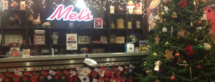 Mel's Diner is one of Places to eat.