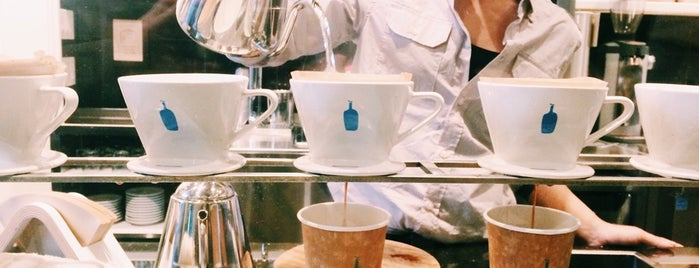 Blue Bottle Coffee is one of New York: been there, done that.
