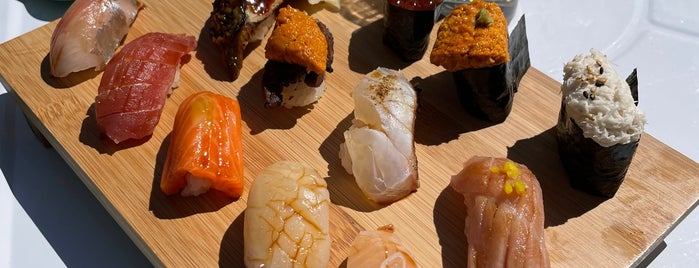 Sushi on Jones is one of manhattan restaurants.