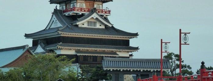 Kiyosu Castle is one of ドライブ|お城スタンプラリー.