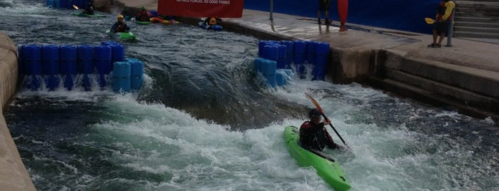 Cardiff International White Water is one of Favourite Great Outdoors.