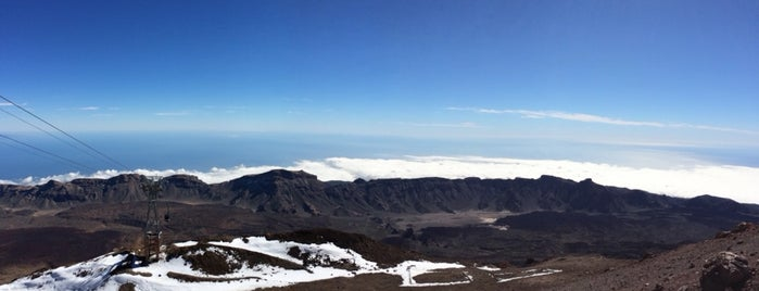 Pico del Teide is one of Tenerife.
