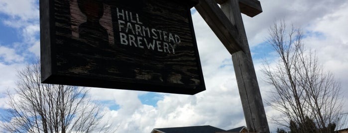 Hill Farmstead Brewery is one of Beer / Ratebeer's Top 100 Brewers [2018].
