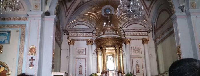 Iglesia De La Virgen De Los Dolores Xaltocan is one of Tour del sur.