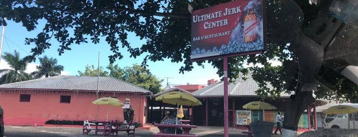 Ultimate Jerk Centre & Rest Stop is one of Lugares favoritos de Jeeleighanne.