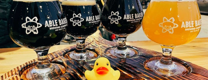 Able Baker Brewing is one of Viva Las Vegas.