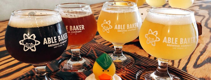 Able Baker Brewing is one of Whit 님이 저장한 장소.