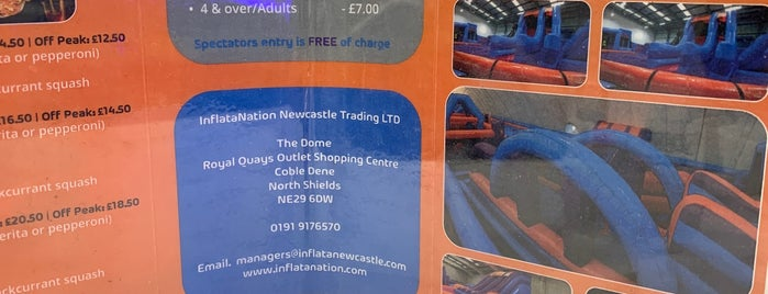 Inflata Nation is one of Attractions.