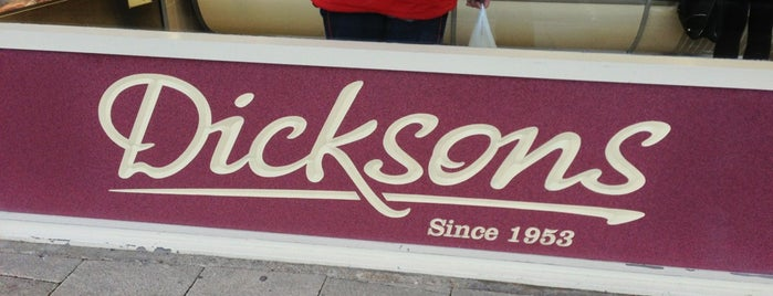 Dicksons is one of Orte, die Carl gefallen.