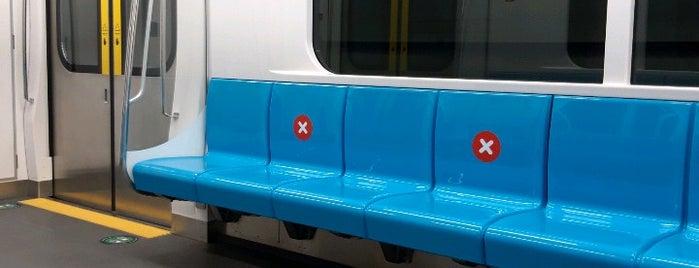 Stasiun MRT Blok M is one of MRT trip.