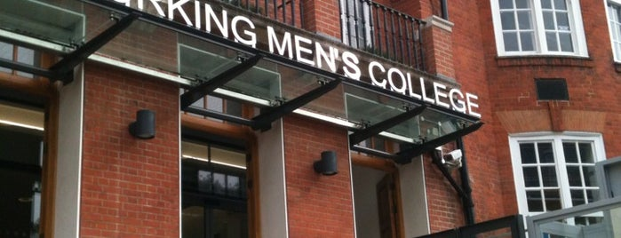 Working Mens College is one of Cat'ın Beğendiği Mekanlar.