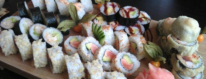 Akiko Sushi Bar & Restaurant is one of SR - zaujimave podniky.