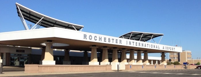 Rochester International Airport (RST) is one of Airports.