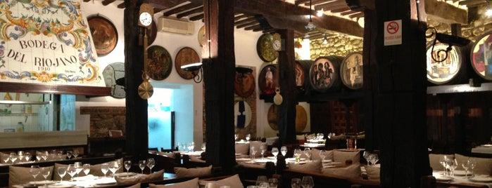 Bodega del Riojano is one of No hay comida como la de la tierruca.