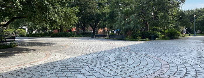 Congo Square is one of New Orleans.