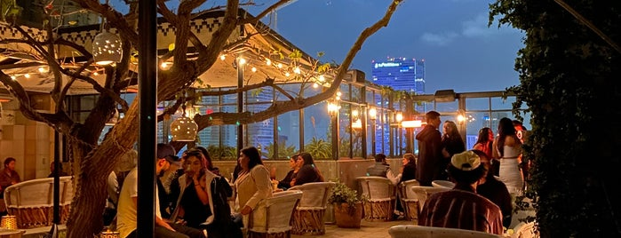 Upstairs Rooftop Lounge at Ace Hotel is one of Usa Usa ❤️.
