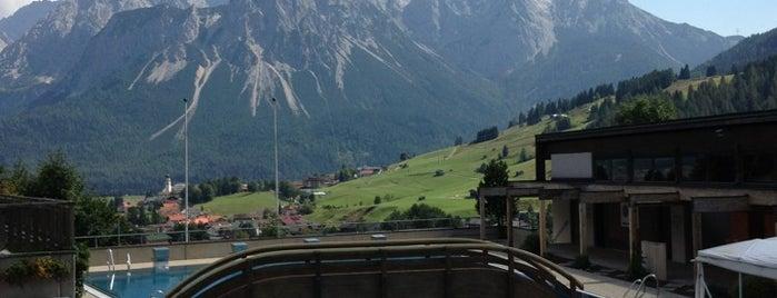 Panoramabad Lermoos is one of Alpes bavaroises et Tyrol autrichien.