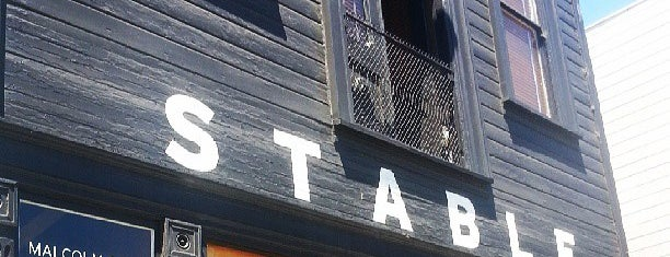 Stable Cafe is one of The San Franciscans: Cafés.