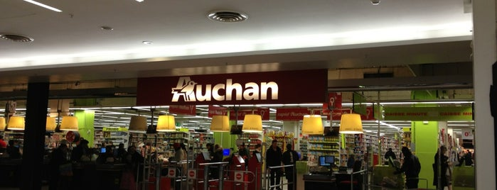 Auchan is one of Paris with sise.