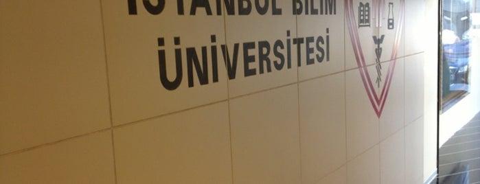 İstanbul Bilim Üniversitesi is one of İstanbul'daki Üniversite ve MYO'ların Kampüsleri.