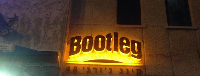 Bootleg is one of Tel Aviv, white city.
